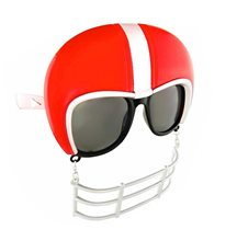 Picture of Red Football Helmet Sunglasses