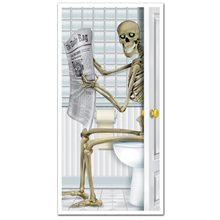 Picture of Skeleton Restroom Door Cover