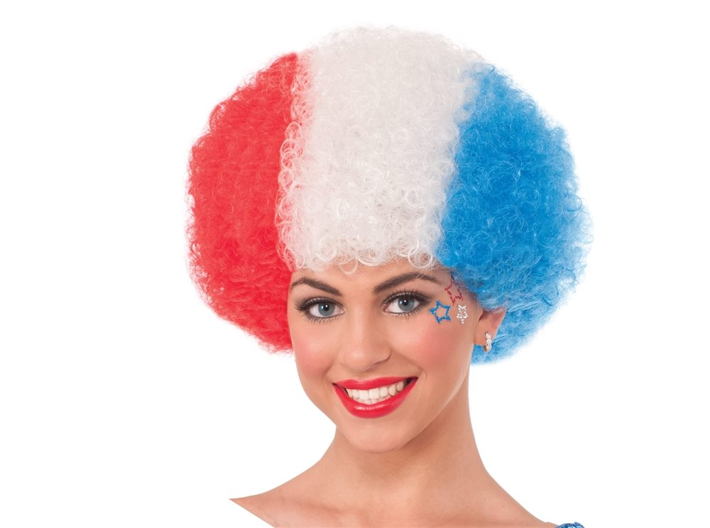Picture of Patriotic Afro Wig