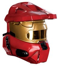 Picture of Halo Red Spartan Adult Half Mask