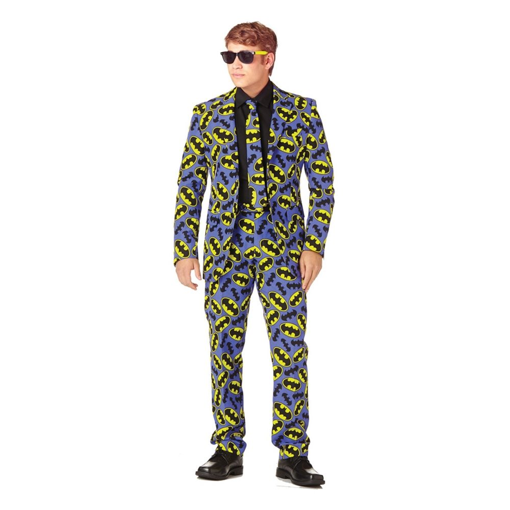 Picture of Batman Logo Adult Mens Suit