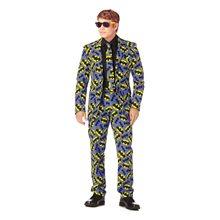 Picture of Batman Logo Adult Mens Suit