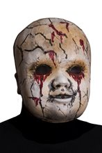 Picture of Creepy Cracked Doll Face Mask