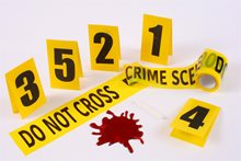 Picture of Crime Scene Decoration Kit