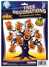 Picture of Spooky Tree Bag Decorations 10ct (More Styles)