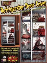 Picture of Mutilated Body Parts Refrigerator Door Cover