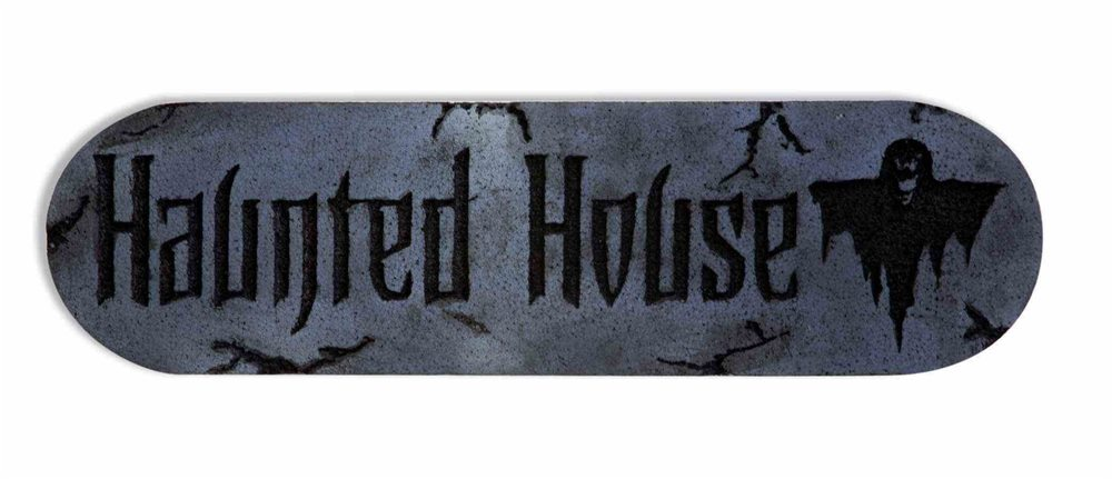 Picture of Haunted House Foam Plaque
