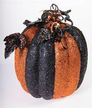 Picture of Black & Orange Glitter Pumpkin