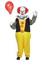 Picture of Life-Sized Pennywise the Clown Animated Prop