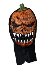 Picture of Frightening Orange Pumpkin Mask