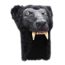 Picture of Black Bear Furry Helmet