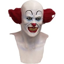 Picture of Nightmare Red Haired Clown Mask