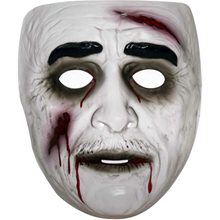 Picture of Transparent Male Zombie Mask