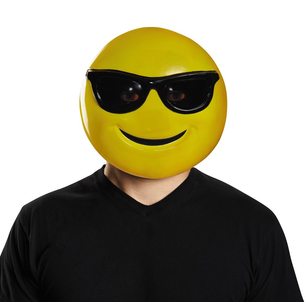 Picture of Cool Sunglasses Emoji Adult Mask