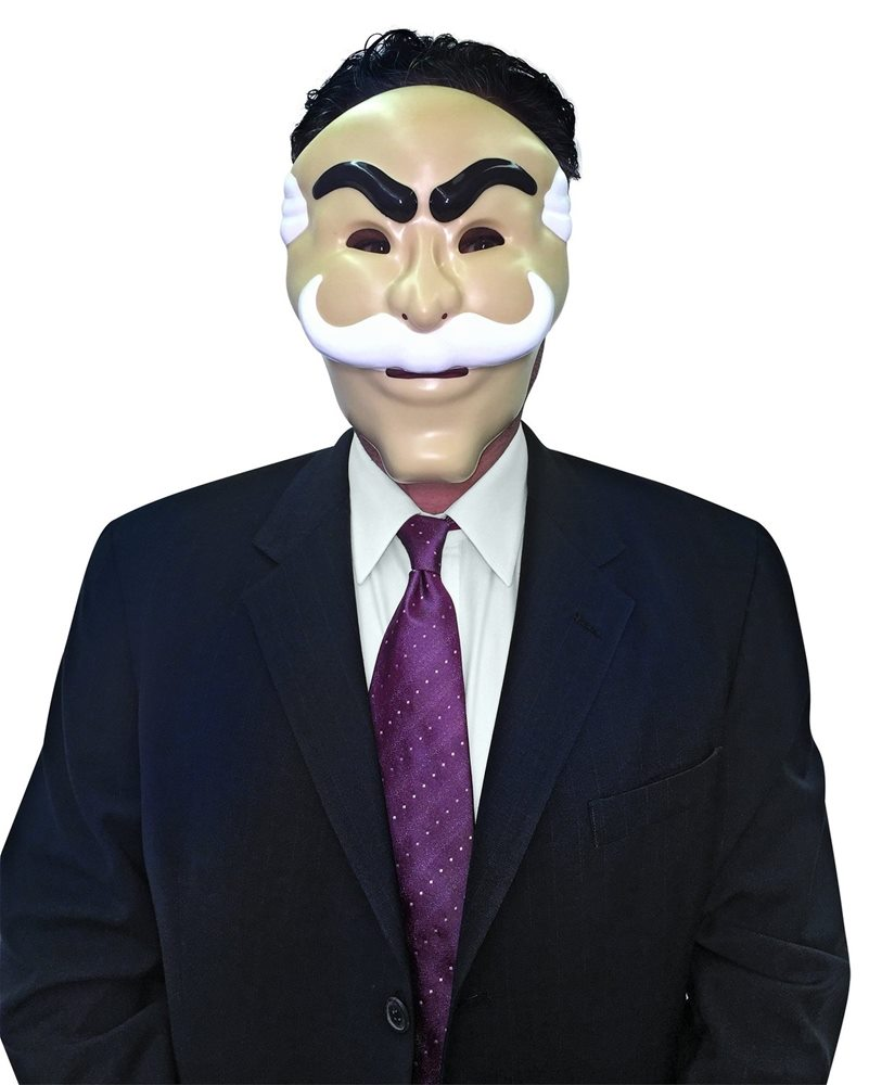 Picture of Mr. Robot fsociety Hacker Mask