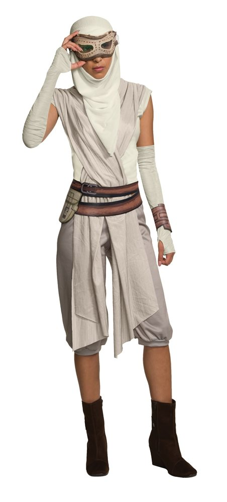 Picture of Star Wars The Force Awakens Rey Adult Mask & Hood