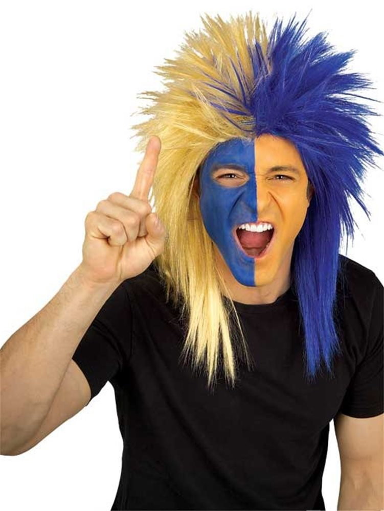 Picture of Los Angeles Rams Blue & Gold Wig