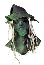 Picture of Burlap Witch Mask with Hat