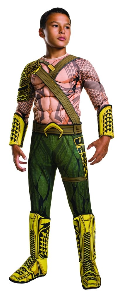 Picture of Batman v Superman Deluxe Aquaman Child Costume