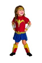 Picture of Batman v Superman Wonder Woman Romper Toddler Costume