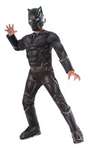 Picture of Captain America: Civil War Deluxe Black Panther Child Costume