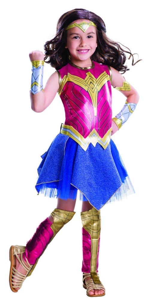 Picture of Batman v Superman Deluxe Wonder Woman Child Costume