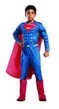 Picture of Batman v Superman Deluxe Superman Child Costume