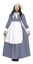 Picture of Grey Pilgrim Girl Child Costume