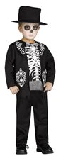 Picture of Mini Skeleton King Toddler Costume