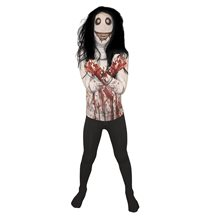 Picture of Jeff the Killer Morphsuit Child Costume