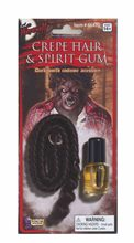 Picture of Werewolf Crepe Hair & Spirit Gum Set