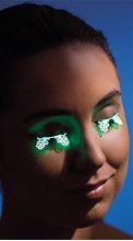 Picture of Glow in the Dark Floral Eyelashes