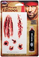 Picture of Bloody Pirate Tattoos