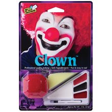 Picture of Red Clown Makeup Kit