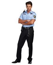 Picture of Prison Guard Hugh B. Guilty Adult Mens Costume
