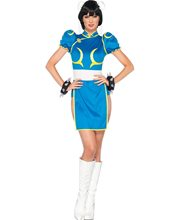 Picture of Street Fighter Chun-Li Adult Womens Costume