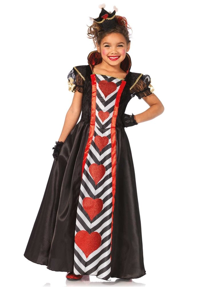 Picture of Queen of Hearts Child Costume