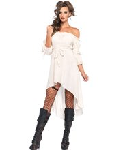 Picture of Ivory Medieval Peasant Adult Womens Dress