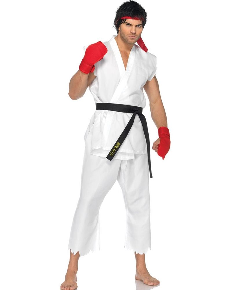 Picture of Street Fighter Ryu Adult Mens Costume