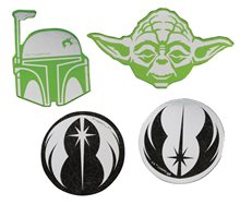 Picture of Star Wars Yoda & Boba Fett Confetti