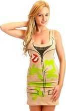 Picture of Ghostbusters Suit Adult Womens Tank Dress