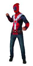 Picture of Deadpool Adult Mens Shirt & Mask Set