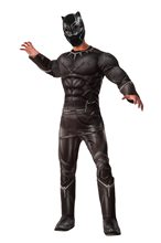 Picture of Captain America: Civil War Deluxe Black Panther Adult Mens Costume