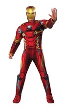 Picture of Captain America: Civil War Deluxe Iron Man Adult Mens Costume