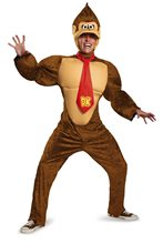 Picture of Donkey Kong Deluxe Adult Mens Plus Size Costume