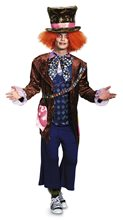Picture of Mad Hatter Deluxe Adult Mens Plus Size Costume