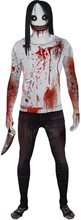 Picture of Jeff the Killer Morphsuit Adult Unisex Costume