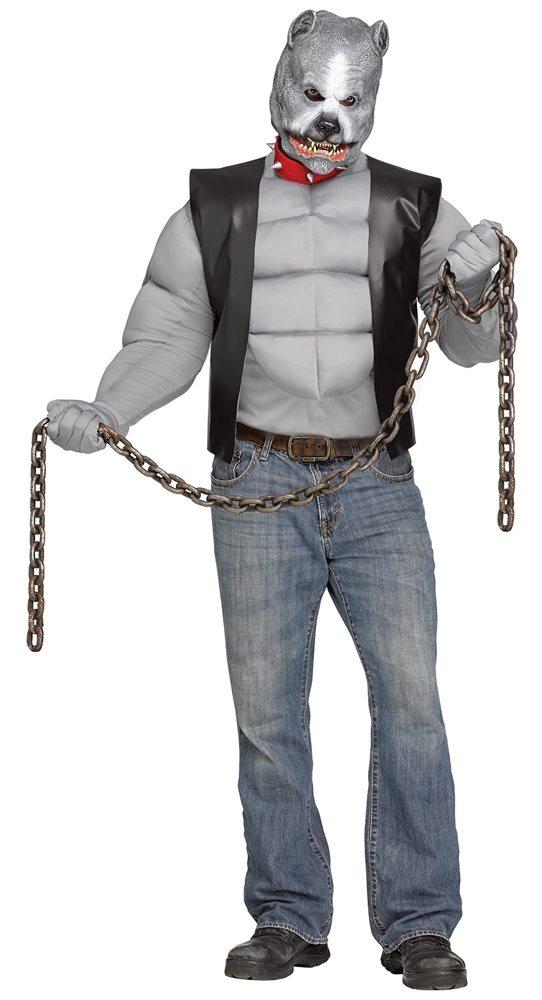 Picture of Pitbull Biker Adult Mens Costume