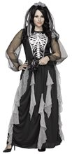 Picture of Skeleton Bride Adult Womens Plus Size Costume
