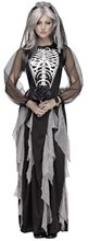 Picture of Skeleton Bride Adult Womens Costume